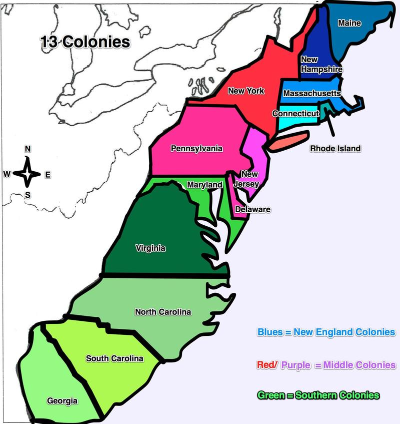 Ms. Barnes\' Class: 13 Colonies